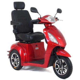 Elscooter Elmoped Prisma Rapid Sport röd