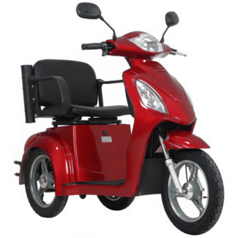 Elscooter Elmoped Prisma Rapid röd