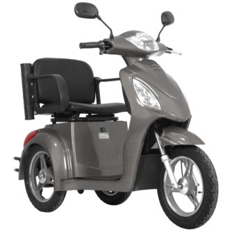 Elscooter Elmoped Prisma Rapid Grå