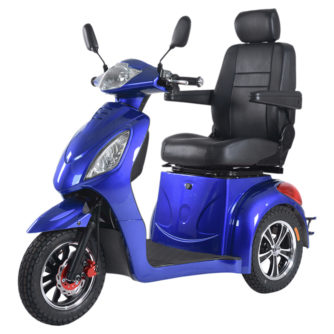 Elscooter Elmoped Prisma Rapid Sport blå