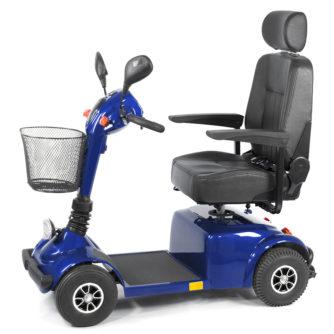 Elscooter Elmoped Prisma 420 blå