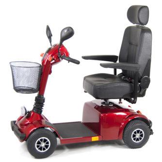 Elscooter Elmoped Prisma 420 röd
