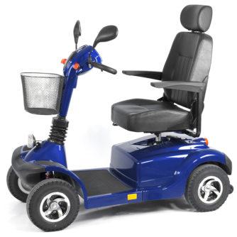Elscooter Elmoped Prisma 700 blå