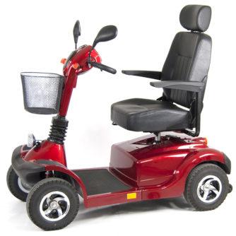 Elscooter Elmoped Prisma 700 röd